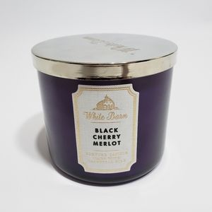 Bath & Body Works 3Wick Candle Black Cherry Merlot